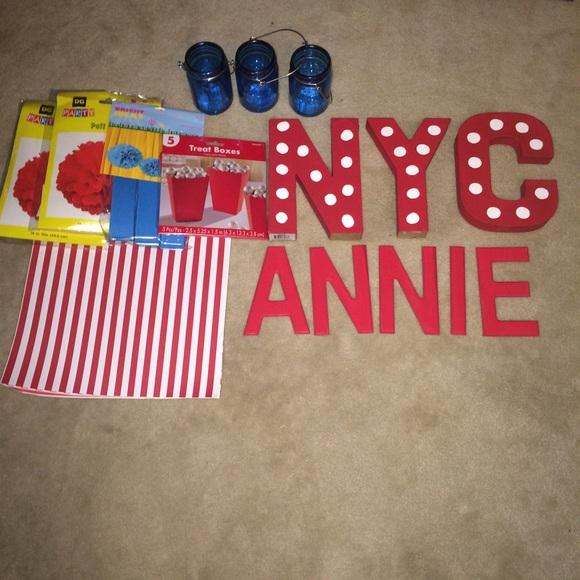 Annie birthday party decorations
