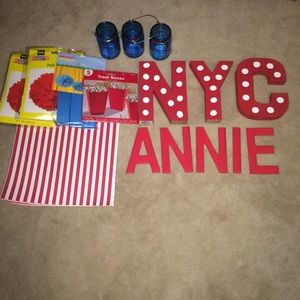 Other - Annie Theme birthday party supplies