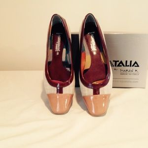 Aquatalia slip on shoe
