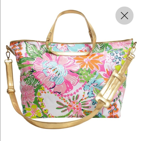 380503e0a9 Lilly for Target Weekender Bag - Nosie Posey