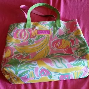 Lilly Pulitzer colorful tote