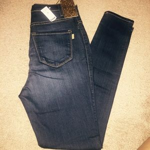 Denim - Blue June skinny jeans.