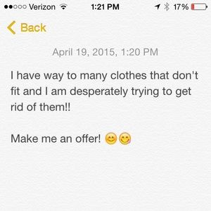 Make me an Offer!!