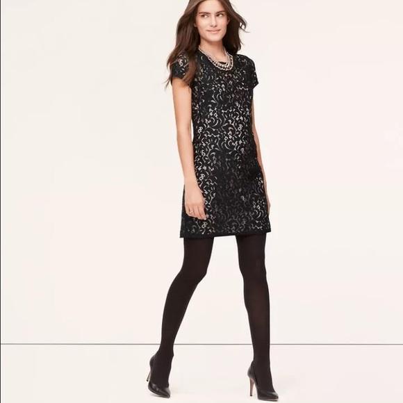 loft dresses. Little Black Dress! #LBD #Lace #loft Loft Dresses S