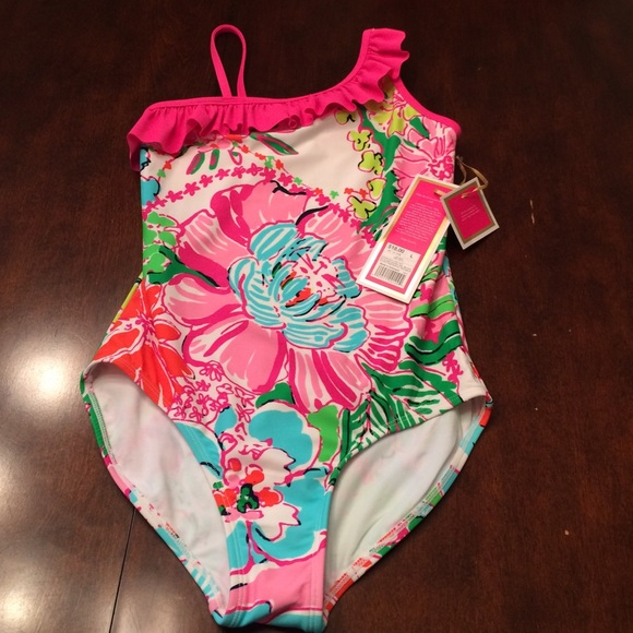 b9d9b2efab Lilly Pulitzer for Target Girls OnePiece Swimsuit
