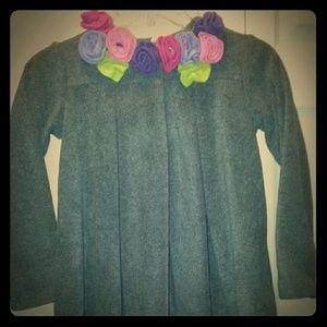Jackets & Blazers - Cute!  Swing coat with matching head warmer.