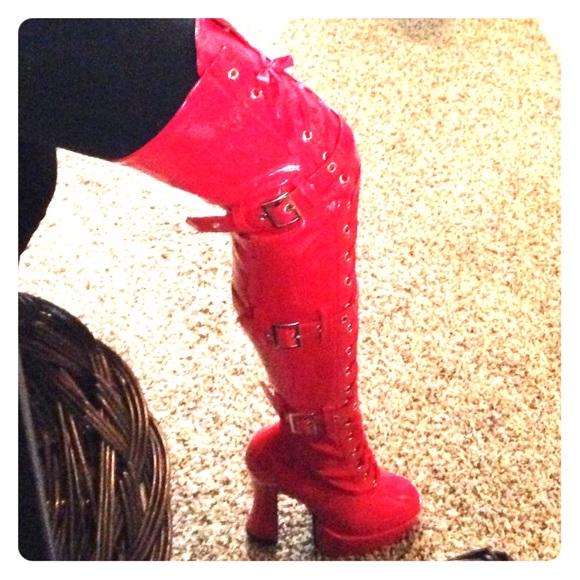 hooker boots. Wonderful Hooker Red Hooker Boots Intended T