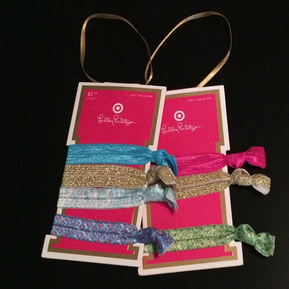 Lilly Pulitzer Other - Lilly Pulitzer for Target hair ties. Please read! a4c6d67ed9c