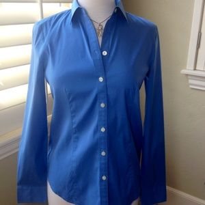 Ann Taylor Tops - Ann Taylor Lapis Button Up Dress Shirt