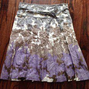 ESPRIT Dresses & Skirts - Spring floral a-line work skirt size 4