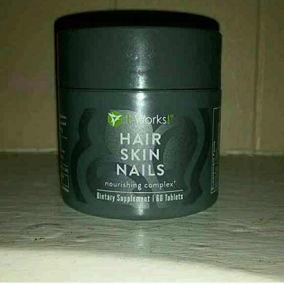 It works Hair skin nails vitamins Other | It Works Hair Skin Nails ...