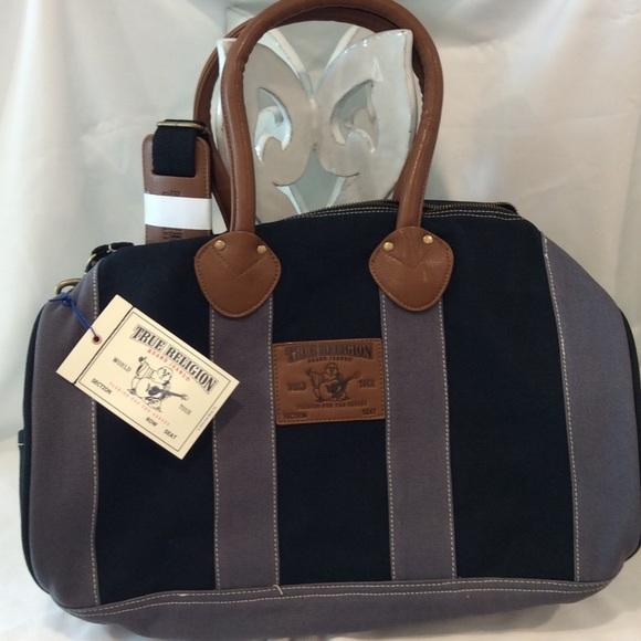 True Religion Duffle bag -NEW 79691a80cddfe