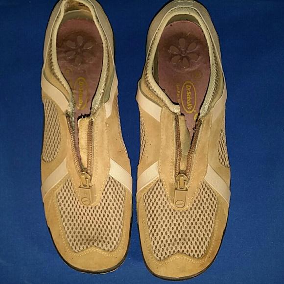 Dr Scholls Shoes Dr Scholls Tan Zip Top Poshmark