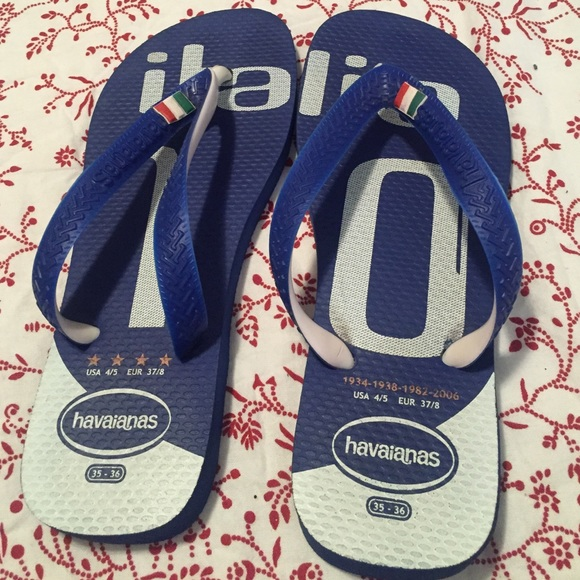ab9292e07f5e87 Havaianas Shoes - World Cup Italy flip flops