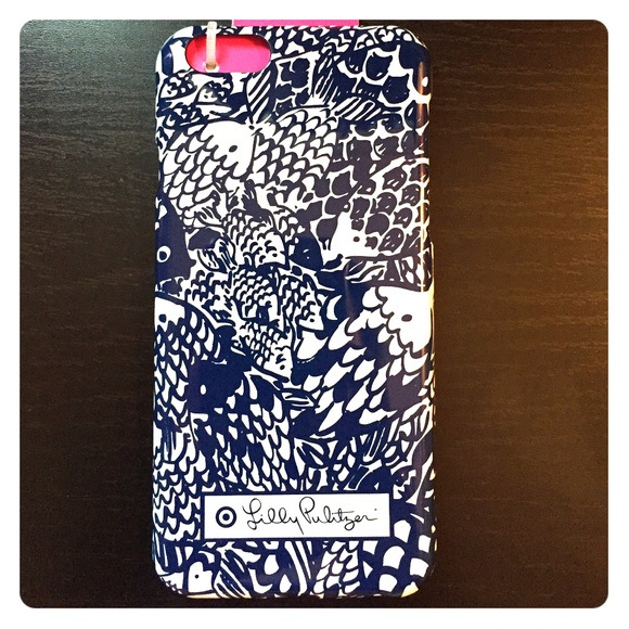 separation shoes bb799 4817d Lilly Pulitzer for Target iPhone 6 case Sea Urchin NWT