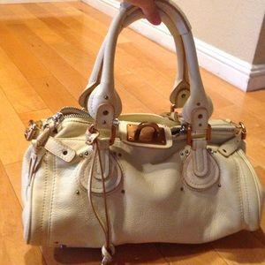 see by chloe wallets - 75% off Chloe Handbags - Chlo�� Paddington Cream Leather Shoulder ...