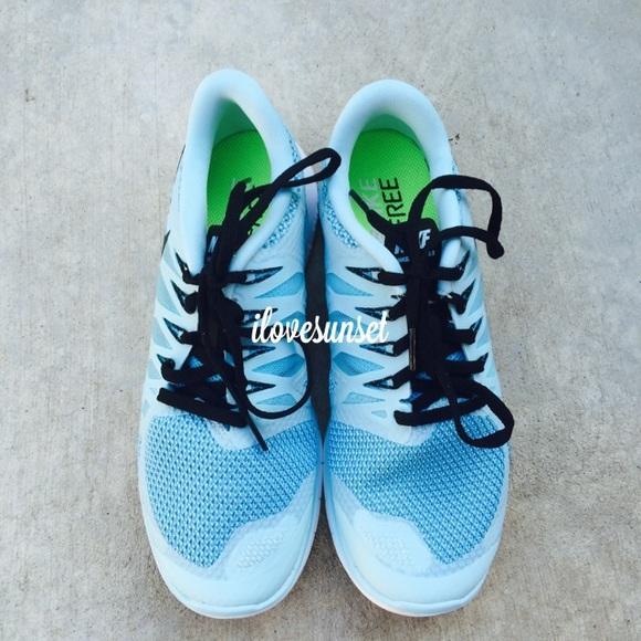 Nike Shoes - {Nike} Ice Cube Blue Free 5.0