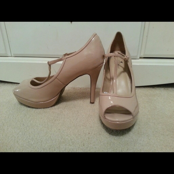 American Eagle Outfitters - American Eagle nude heels size 11 from ...