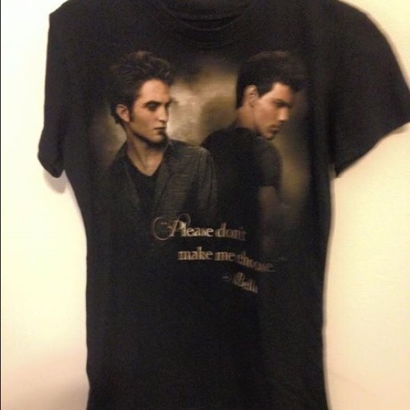 64 Off Hot Topic Tops Edward Jacob Twilight Shirt From