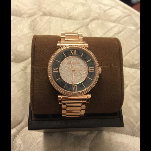 210c2ca84f0 MICHAEL KORS MK3339 WOMEN S ROSE-GOLD WATCH