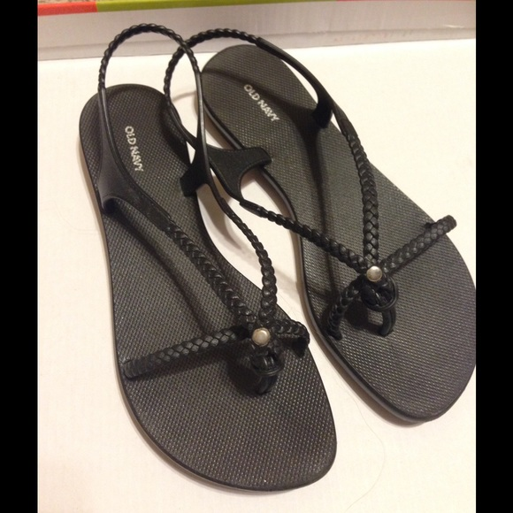 4a9c5784ac7 Old navy braided black sandals