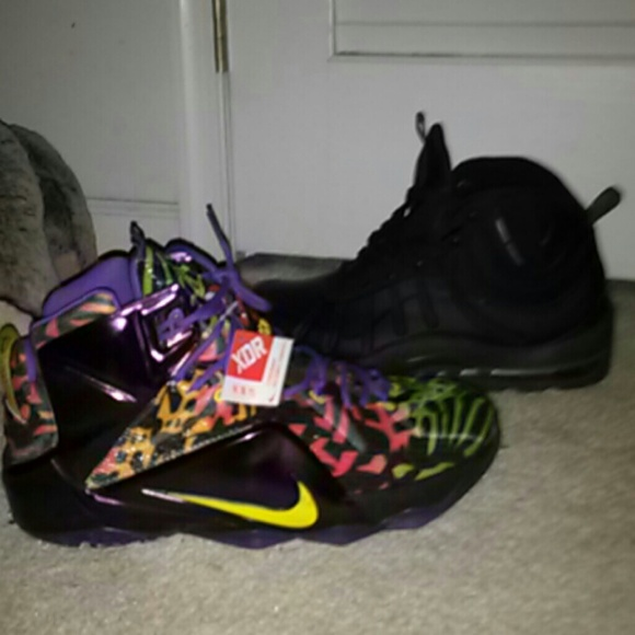 Nike Shoes   Lebron 2 Custom Kickz