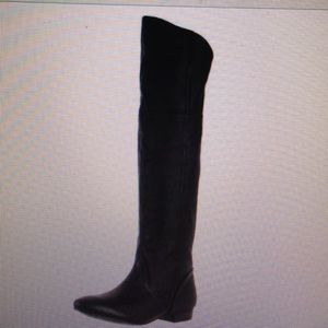 Chinese Laundry women's Leather Knee-high Boot