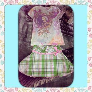 Candies Plaid Skirt
