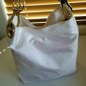 Jpk white handbag