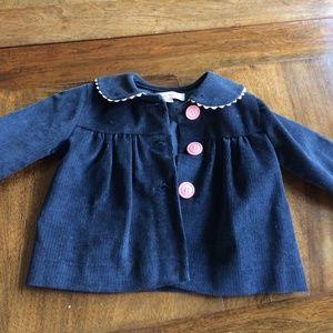 Toddler Kayce Hughes corduroy jacket