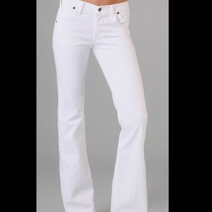 Citizens of Humanity Denim - 🆕 COH White Hutton Wide Leg Jeans
