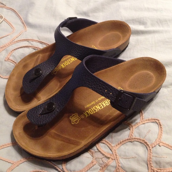 fc013db1c711 Birkenstock Shoes - Navy blue size 39 Birkenstock sandals. Nwot size 9