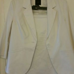Professional White Limited Collection Suit