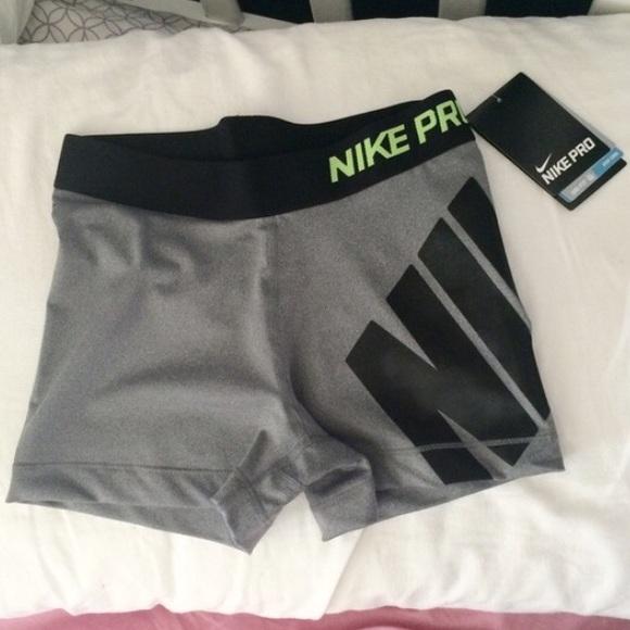 b1a16c4ec15fab Nike Pro Logo Shorts - Carbon