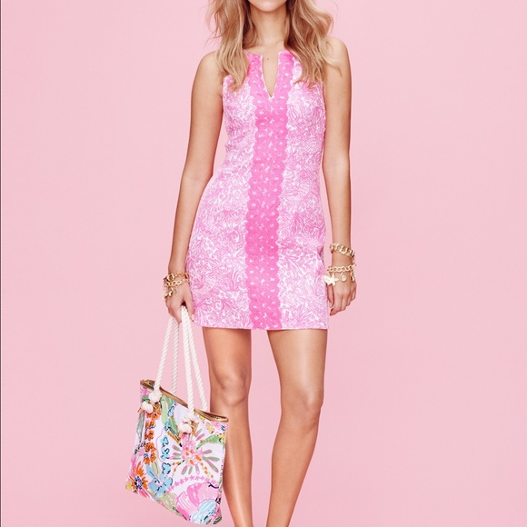 d2afeacdc4e Lilly Pulitzer Target pink shift dress