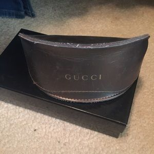 Gucci glasses case