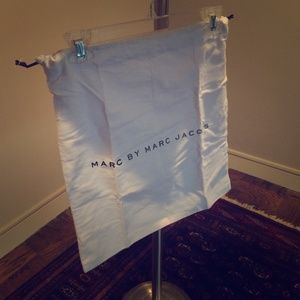 Marc By Marc Jacobs white carrier bag. SO useful!