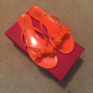 Authentic Valentino rockstud thong sandal