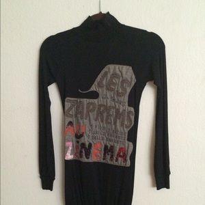 Custo Barcelona Dresses - CUSTO BARCELONA LS Turtleneck Dress (((Size 1)))