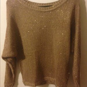 Poof Couture Sweaters - Women's Sequin Sweater