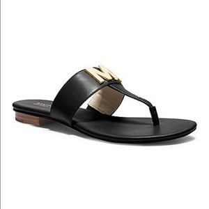 Michael Kors Shoes - Brand New MK Hayley Thong Flat Sandals!!
