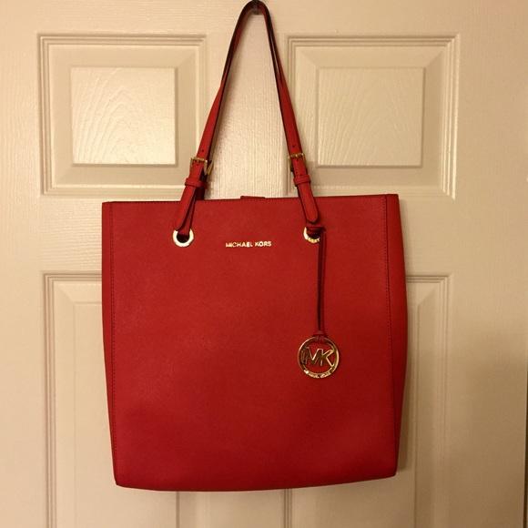 711f662ba4d3 Buy michael kors handbags red tote > OFF58% Discounted