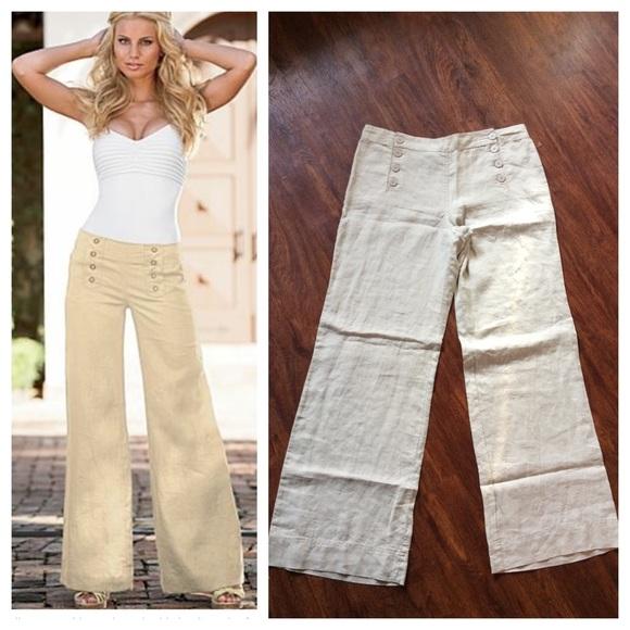 Linen Sailor Pants Pant So