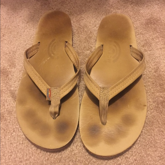 rainbow sandals gently used. M 5536324636d59432a400262a 3dcc228b1