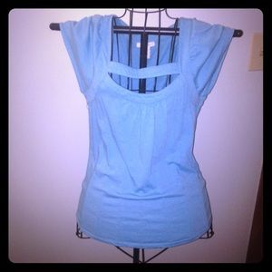 CR / Low cut Bandage Type Top/ Blue/ Large