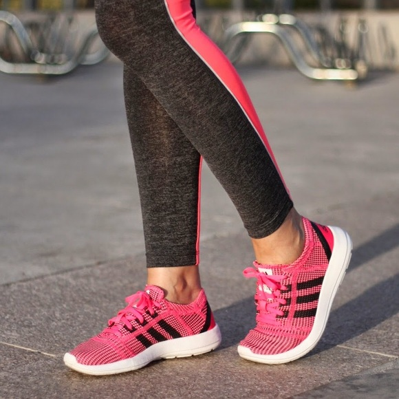adidas neo pink on sale > OFF45% Discounted