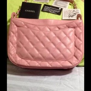 HP 7/24 HP 8/27 Pink CHANEL caviar hobo
