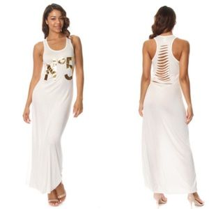 Dresses & Skirts - Number 5 Razor Back Maxi