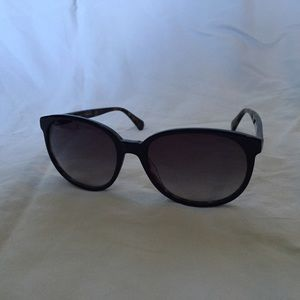 Black & Tortoise Shell Coach Sunglasses