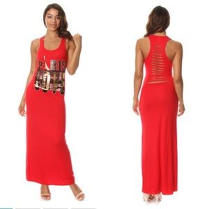 Dresses & Skirts - Paris Love Razor Back Maxi